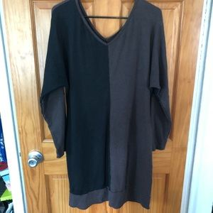 Chalet Long Sleeve Dress; Sz Medium